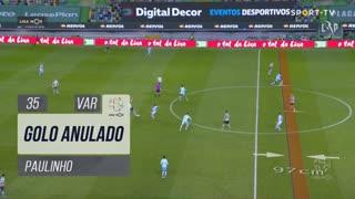 Sporting CP, Golo Anulado, Paulinho aos 35'