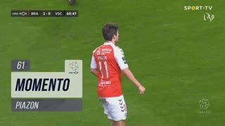 SC Braga, Jogada, Piazon aos 61'