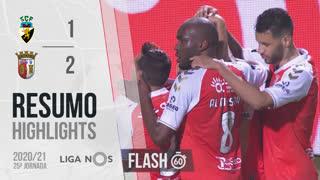 Liga NOS (25ªJ): Resumo Flash SC Farense 1-2 SC Braga