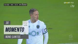 Sporting CP, Jogada, Nuno Santos aos 30'