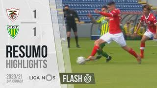 Liga NOS (24ªJ): Resumo Flash Santa Clara 1-1 CD Tondela