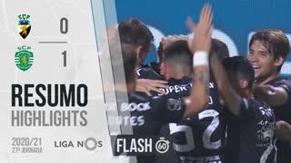 Liga NOS (27ªJ): Resumo Flash SC Farense 0-1 Sporting CP