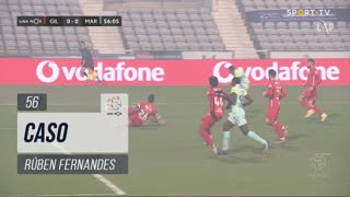 Gil Vicente FC, Caso, Rúben Fernandes aos 56'