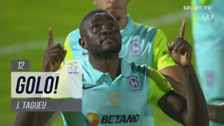 GOLO! Marítimo M., J.Tagueu aos 12', FC Famalicão 0-1 Marítimo M.