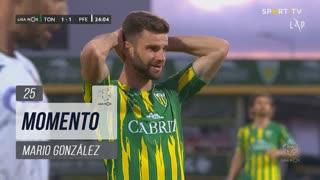 CD Tondela, Jogada, Mario González aos 25'