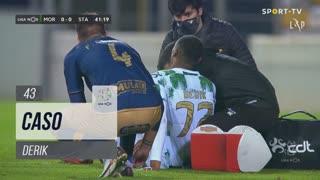 Moreirense FC, Caso, Derik aos 43'