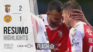 I Liga (4ªJ): Resumo Flash SC Braga 2-1 CD Nacional