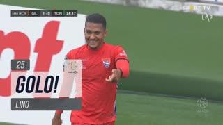 GOLO! Gil Vicente FC, Lino aos 25', Gil Vicente FC 1-0 CD Tondela