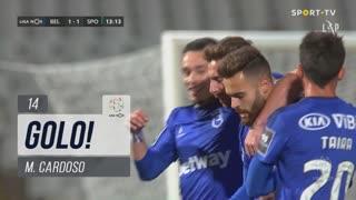 GOLO! Belenenses SAD, M. Cardoso aos 14', Belenenses SAD 1-1 Sporting CP