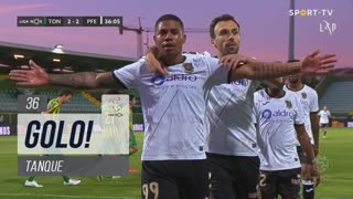 GOLO! FC P.Ferreira, Tanque aos 36', CD Tondela 2-2 FC P.Ferreira