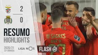Liga NOS (23ªJ): Resumo Flash SL Benfica 2-0 Boavista FC