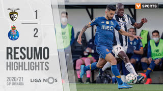Liga NOS (24ªJ): Resumo Portimonense 1-2 FC Porto