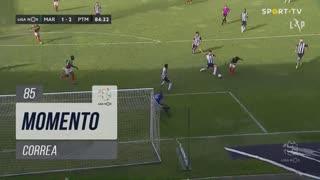 Marítimo M., Jogada, Correa aos 85'