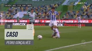 Sporting CP, Caso, Pedro Gonçalves aos 11'
