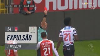 Boavista FC, Expulsão, J. Porozo aos 54'
