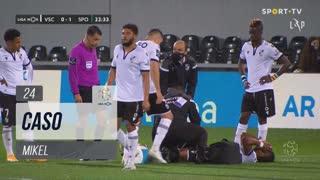 Vitória SC, Caso, Mikel aos 24'