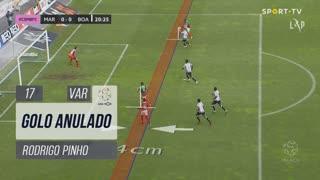 Marítimo M., Golo Anulado, Rodrigo Pinho aos 17'