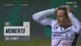FC Famalicão, Jogada, Del Campo aos 80'