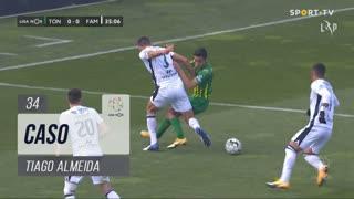 CD Tondela, Caso, Tiago Almeida aos 34'