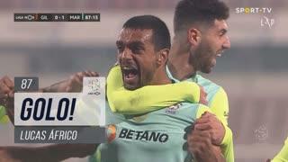 GOLO! Marítimo M., Lucas Áfrico aos 87', Gil Vicente FC 0-1 Marítimo M.