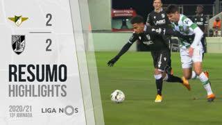 Liga NOS (13ªJ): Resumo Moreirense FC 2-2 Vitória SC