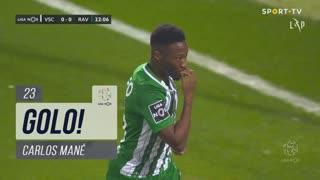 GOLO! Rio Ave FC, Carlos Mané aos 23', Vitória SC 0-1 Rio Ave FC