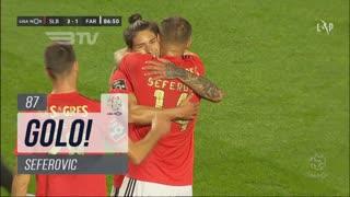 GOLO! SL Benfica, Seferovic aos 87', SL Benfica 3-1 SC Farense