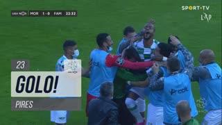 GOLO! Moreirense FC, Pires aos 22', Moreirense FC 1-0 FC Famalicão