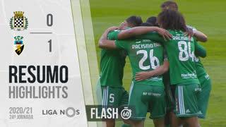 Liga NOS (24ªJ): Resumo Flash Boavista FC 0-1 SC Farense
