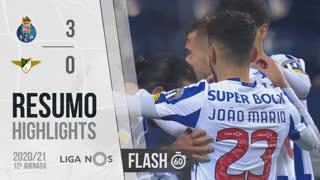 I Liga (12ªJ): Resumo Flash FC Porto 3-0 Moreirense FC
