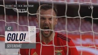 GOLO! SL Benfica, Seferovic aos 42', SL Benfica 1-0 Boavista FC