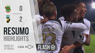 Liga NOS (28ªJ): Resumo Flash FC P.Ferreira 0-2 SC Farense