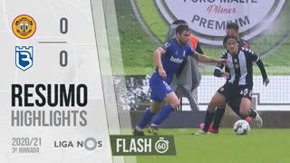 Liga NOS (3ªJ): Resumo Flash CD Nacional 0-0 Belenenses SAD