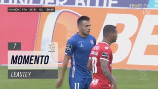Gil Vicente FC, Jogada, Leautey aos 7'