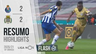 Liga NOS (19ªJ): Resumo Flash FC Porto 2-2 Boavista FC