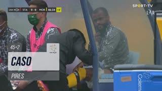 Moreirense FC, Caso, Pires aos 45'+2'