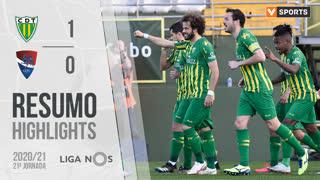 Liga NOS (21ªJ): Resumo CD Tondela 1-0 Gil Vicente FC