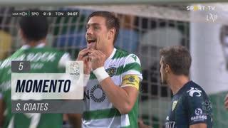 Sporting CP, Jogada, S. Coates aos 5'