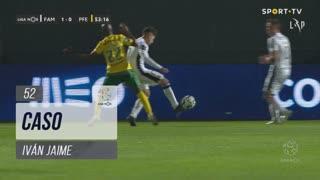 FC Famalicão, Caso, Iván Jaime aos 52'