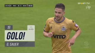 GOLO! Boavista FC, G. Sauer aos 19', CD Nacional 0-1 Boavista FC