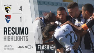 I Liga (19ªJ): Resumo Flash Portimonense 4-1 Gil Vicente FC