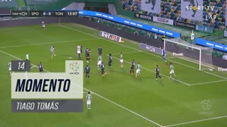 Sporting CP, Jogada, Tiago Tomás aos 14'