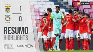 I Liga (25ªJ): Resumo SL Benfica 1-0 Marítimo M.