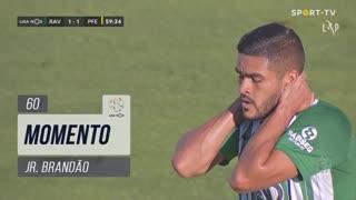 Rio Ave FC, Jogada, Jr. Brandão aos 60'