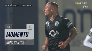 Sporting CP, Jogada, Nuno Santos aos 48'