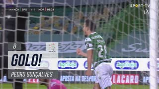 GOLO! Sporting CP, Pedro Gonçalves aos 8', Sporting CP 1-1 Moreirense FC