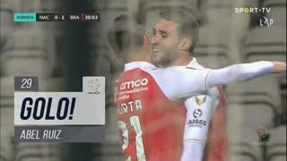GOLO! SC Braga, Abel Ruiz aos 29', CD Nacional 0-2 SC Braga