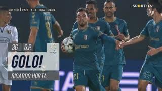 GOLO! SC Braga, Ricardo Horta aos 36', FC Famalicão 1-1 SC Braga