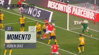 SL Benfica, Jogada, Rúben Dias aos 37'