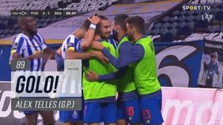 GOLO! FC Porto, Alex Telles aos 89', FC Porto 3-1 SC Braga